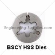 Picture of BSCY Cycle Thread HSS Circular Dies Right Hand