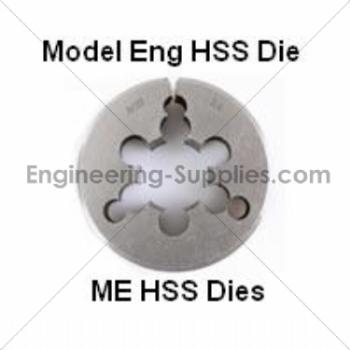 HSS ME MODEL ENGINEER  Die 3//16 X 40TPI 13//16 OD