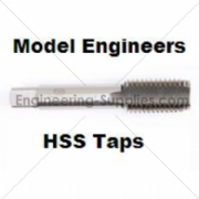 Picture of ME HSS Taps Model Engineers Right Hand