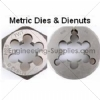Metric HSS Circular Dies - Die Nuts Right Hand