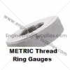 METRIC RIGHT HAND ISO Screw Ring Thread Gauges