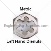 Picture of METRIC LEFT HAND HSS TAPS & DIES