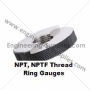 Picture of NPT / NPTF Screw Ring Thread Gauges