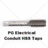 P.G HSS Taps Electrical Conduit Right Hand