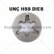 Picture of UNC HSS Circular Dies - Die Nuts Right Hand