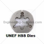 Picture of UNEF HSS Circular Dies - Die Nuts Right Hand