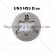 Picture of UN HSS Circular Die - Die Nuts Right Hand